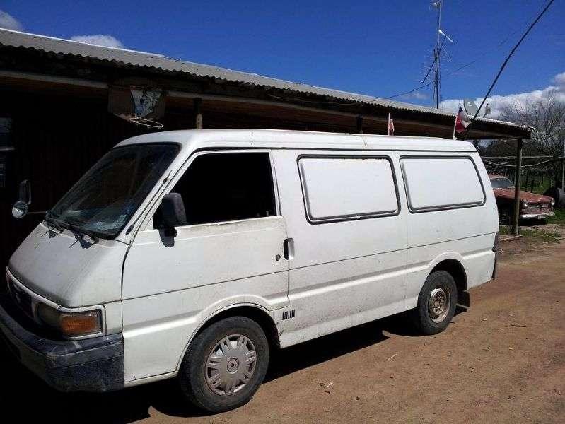 Kia Besta 1st generation [2nd restyling] Triple van 2.7 D MT (1996–1999)