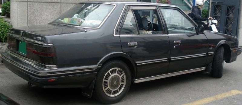 Kia Concord 1st generation 2.0 MT sedan (1987–1991)