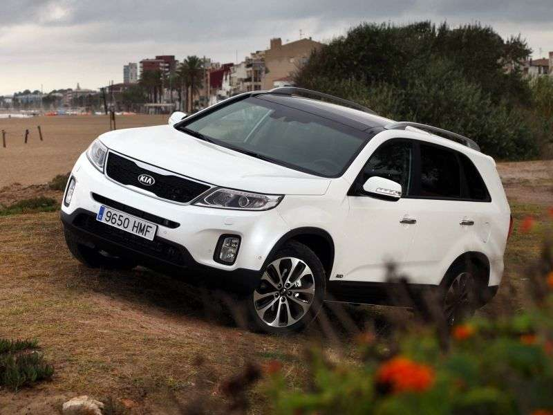 Kia Sorento 2nd generation [restyling] 2.4 AT 4WD Prestige crossover (2012 – n.)