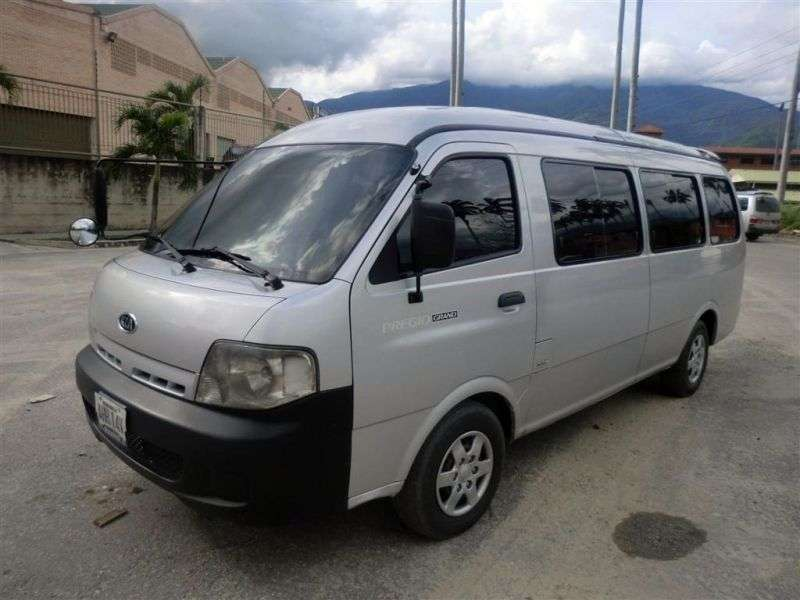 Kia Pregio 1st generation [restyled] Grand minibus 2.7 D MT (2003–2007)