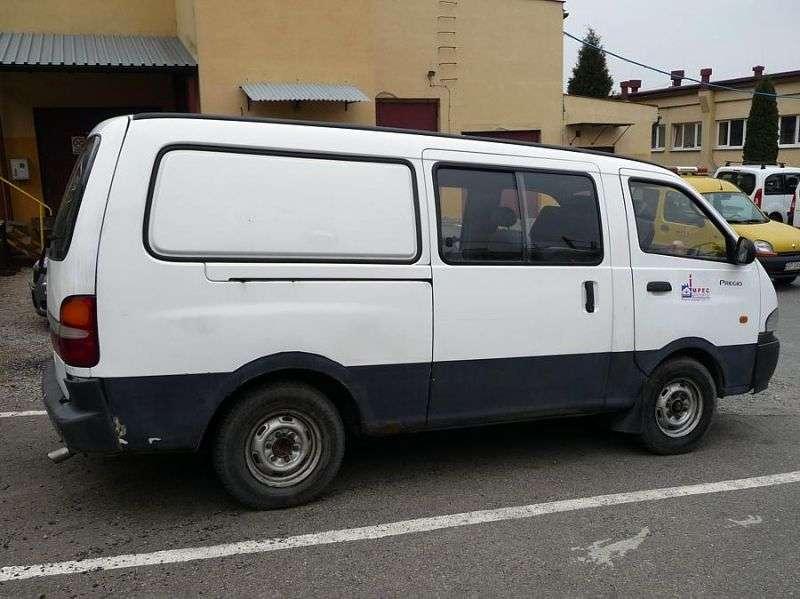 Kia Pregio 1st generation Combi van 4 bit. 3.0 D MT (1997–2003)