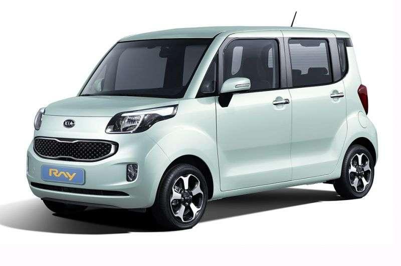 Kia Ray 1st generation minivan 1.0 TCi CVT (2012 – n.)