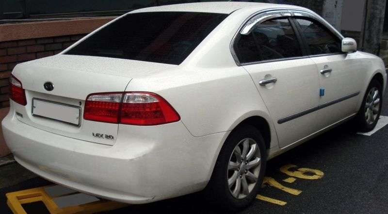 Kia Lotze Advance [restyling] sedan 1.8 AT (2007–2008)