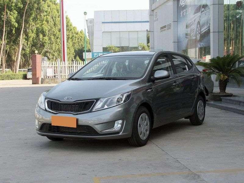 Kia K2 1 generation hatchback 1.4 MT (2011 – current century)