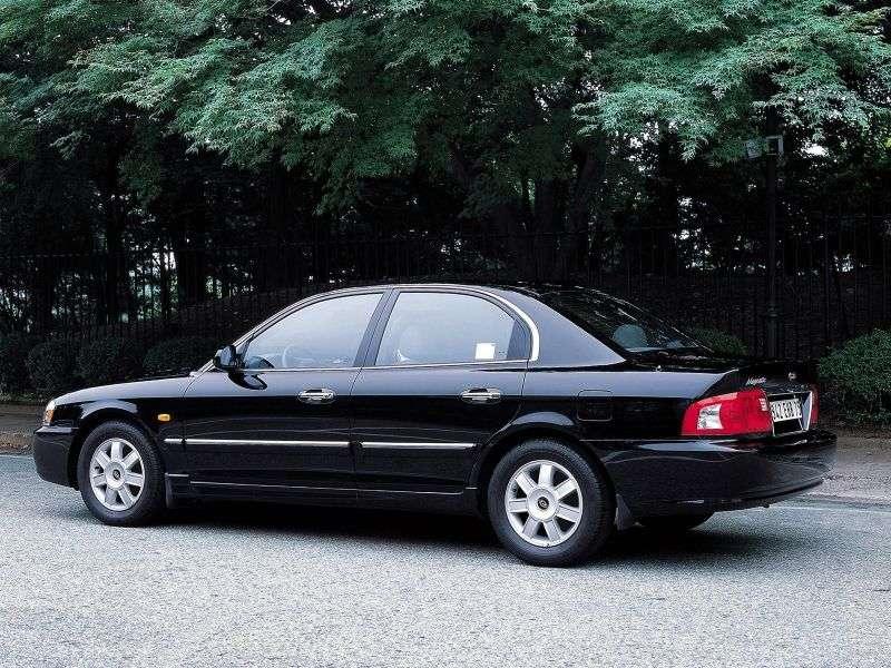 Kia Magentis 1st generation [restyled] 2.5 AT sedan (2003–2006)