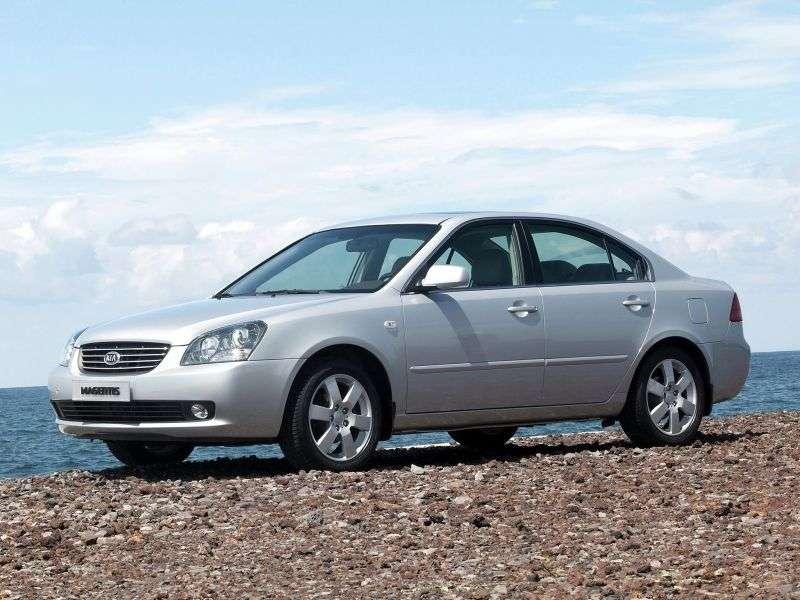 Kia Magentis 2nd generation sedan 2.0 CRDi AT (2006–2008)