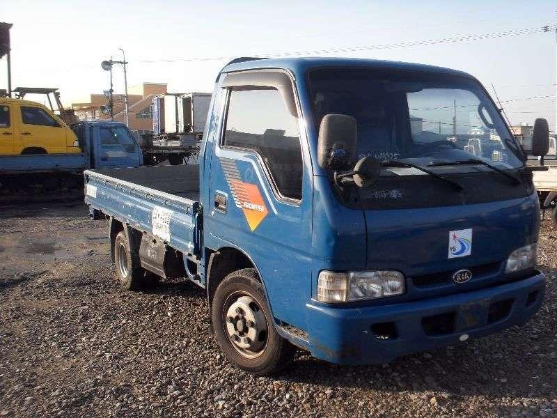 Kia Bongo FrontierStandard cab board 2 bit. 2.7 D MT (1997–2000)