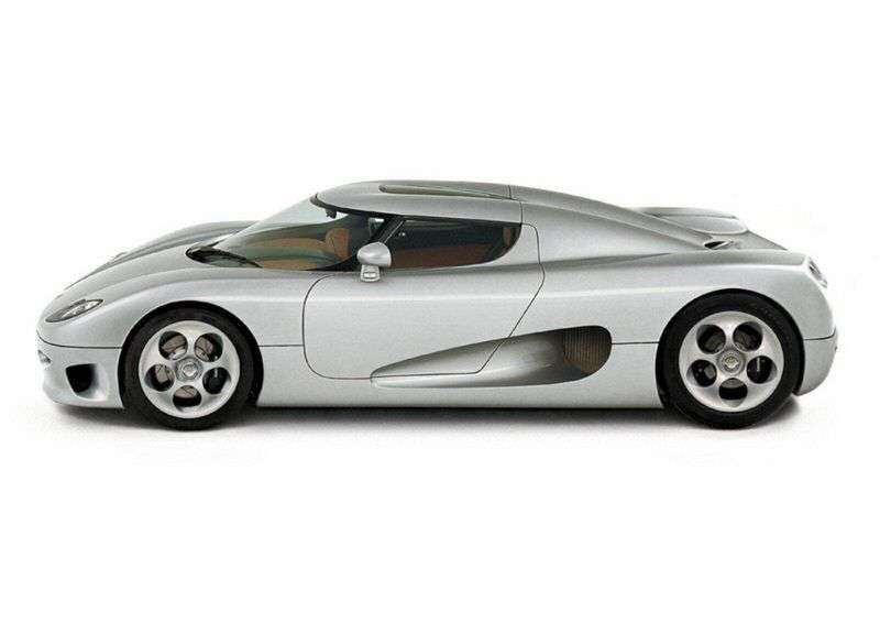 Koenigsegg CC8S 1st generation coupe 4.7 MT (2002–2004)