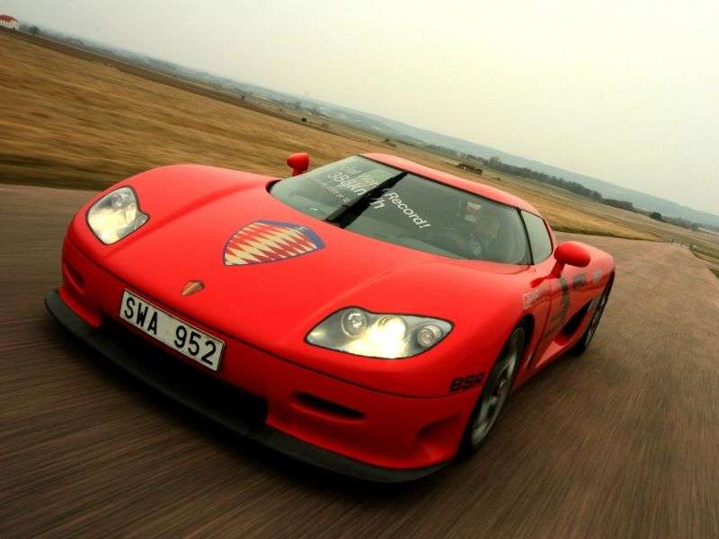Koenigsegg CCR 1st generation coupe 4.7 MT (2004–2006)