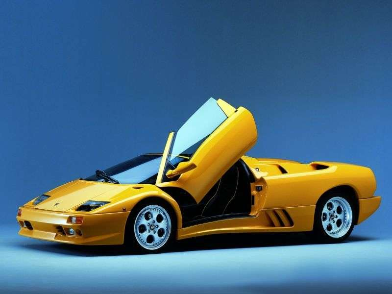 Lamborghini Diablo 2nd generation VT roadster 5.7 MT 4WD (1998–1999)
