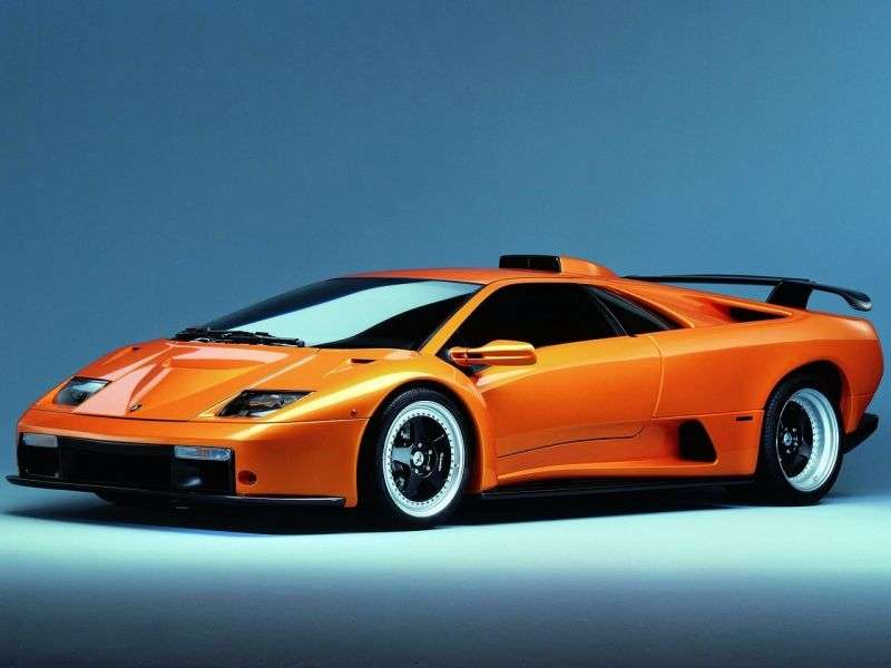 Lamborghini Diablo 2nd generation GT coupe 2 dv. 6.0 GTR MT (1998–2001)