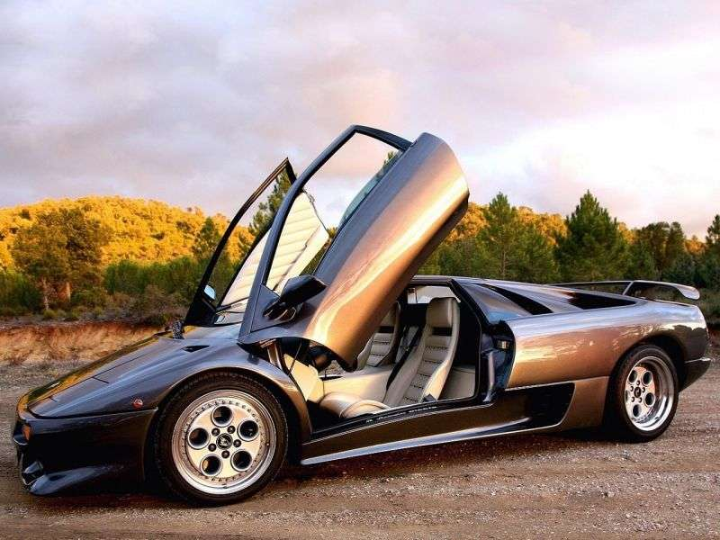 Lamborghini Diablo 1st generation VT coupe 5.7 MT 4WD (1993–1998)