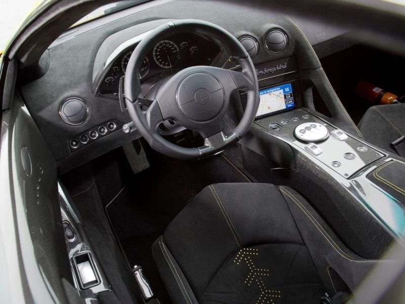 Lamborghini Murcielago 2nd generation LP670 4 SuperVeloce coupe 2 dv. 6.5 AMT (2009–2010)