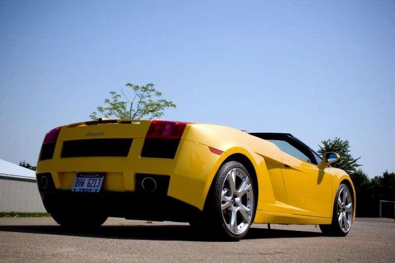 Lamborghini Gallardo 1st generation Spyder Roadster 2 bit. 5.0 MT (2006–2008)