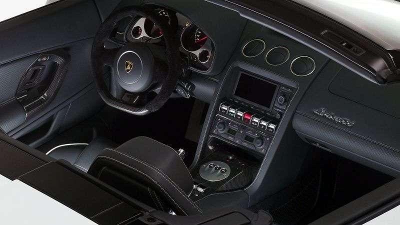 Lamborghini Gallardo 1st generation [restyling] LP560 4 Spyder 5.2 MT AWD Convertible Basic (2012 – present)