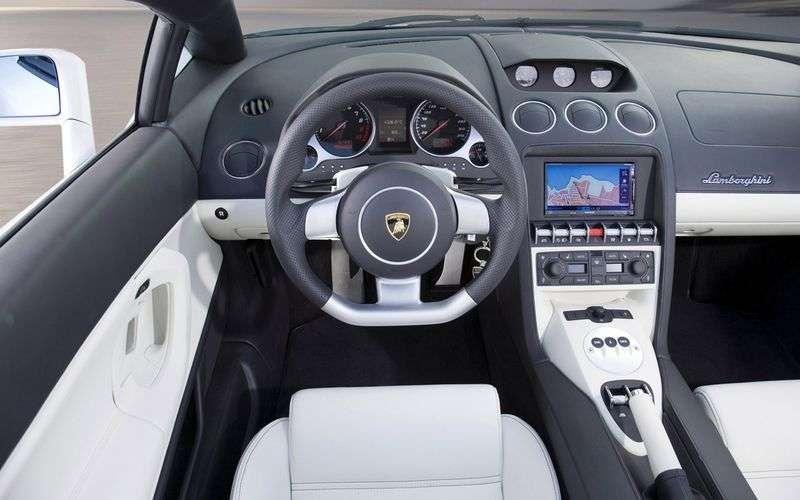 Lamborghini Gallardo 1st generation LP560 4 Spyder roadster 2 dv. 5.2 AMT AWD (2008–2012)