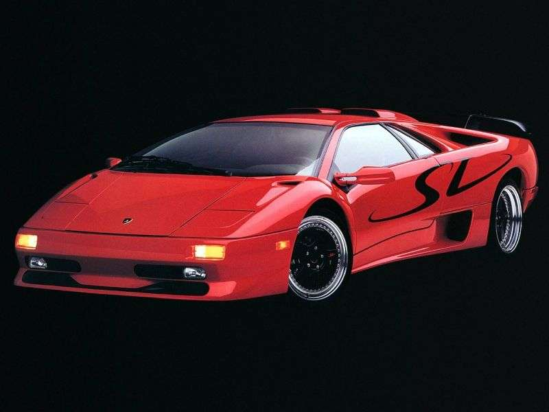 Lamborghini Diablo 1st generation SV coupe 5.7 MT (1997–1998)