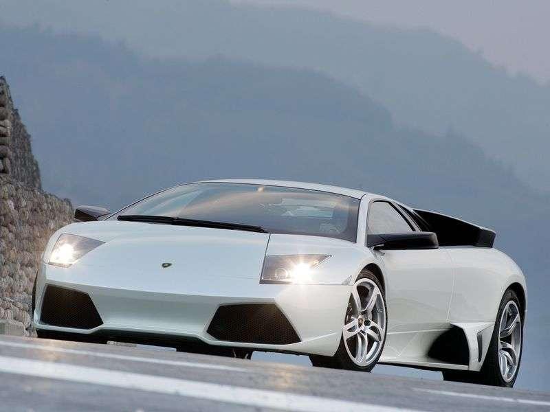 Lamborghini Murcielago 2nd generation LP640 coupe 2 dv. 6.5 MT (2006–2010)