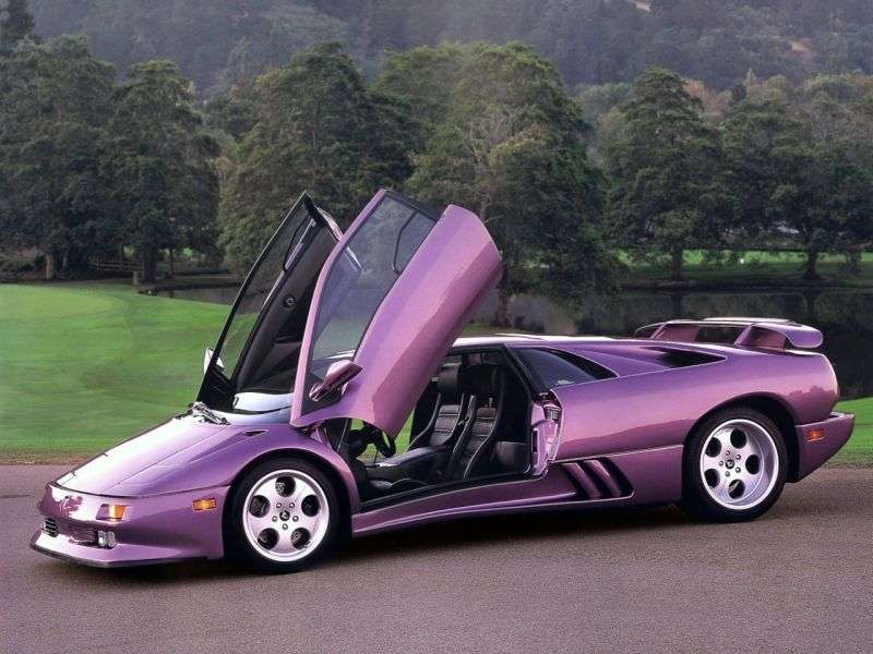 Lamborghini Diablo 1st generation SE30 coupe 5.7 MT Jota (1994–1998)