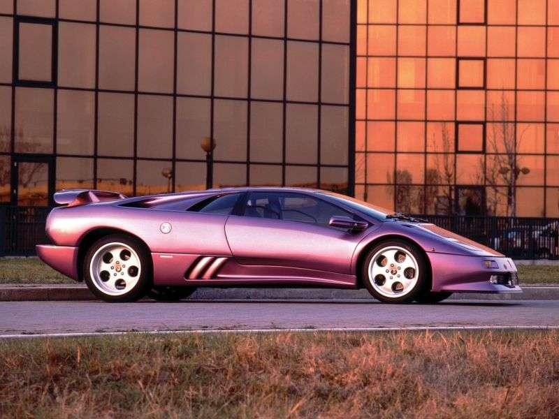 Lamborghini Diablo 1st generation SE30 coupe 5.7 MT (1994–1998)