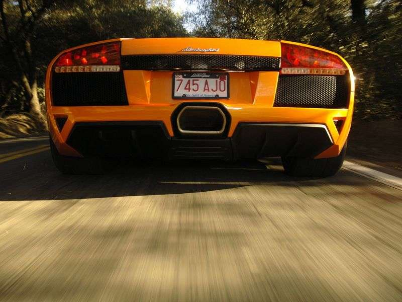 Lamborghini Murcielago 2nd generation LP640 Roadster roadster 6.5 MT (2006–2010)