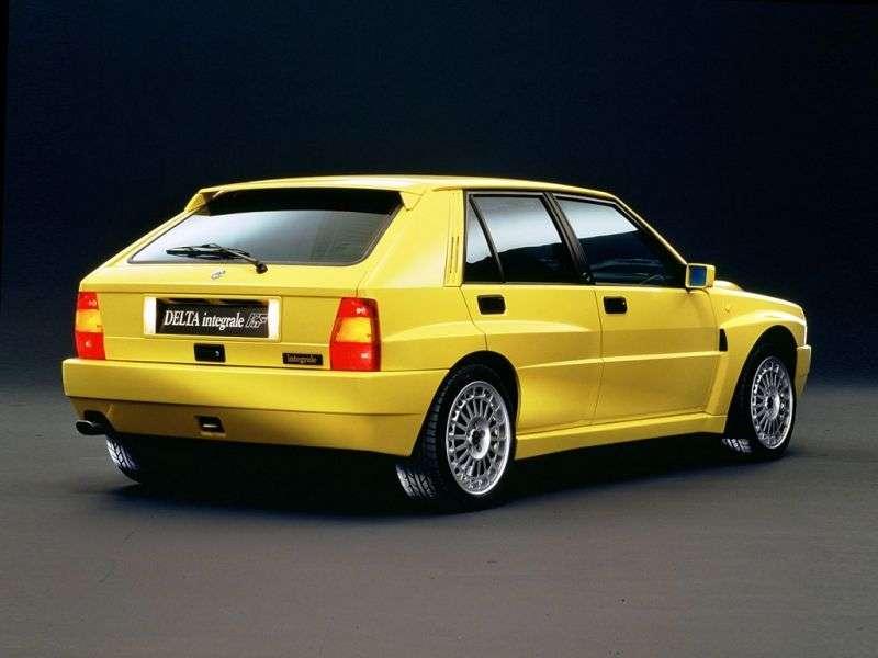 Lancia Delta 1st generation Integrale hatchback 2.0 MT Integrale AWD (1989–1994)
