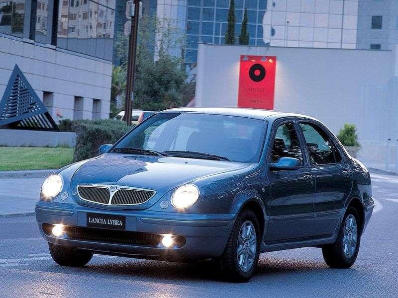 Lancia Lybra sedan 1.generacji 1.9 TD MT (1999 2000)