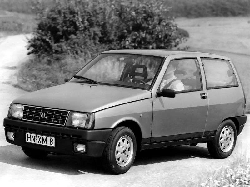 Lancia Y10 1st generation hatchback 1.3i MT (1987–1993)
