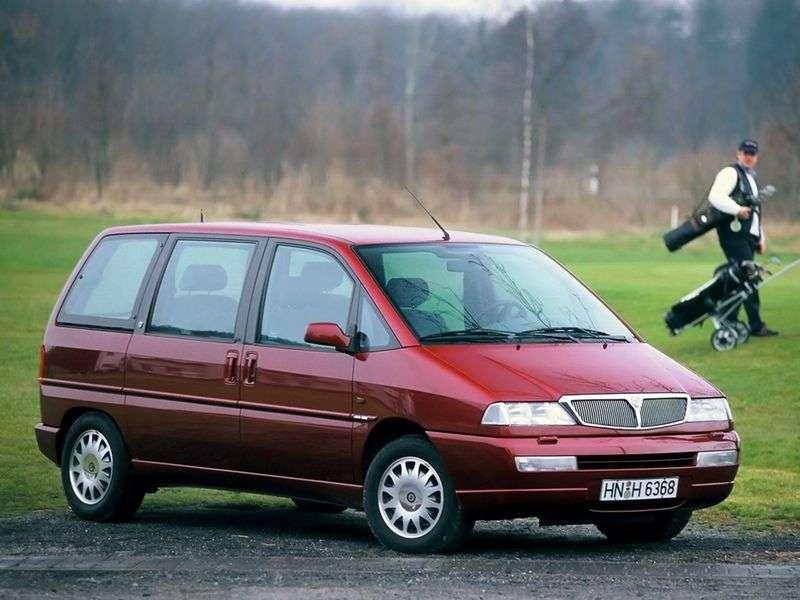 Lancia Zeta 1st generation minivan 2.0JTD MT (1999–2002)