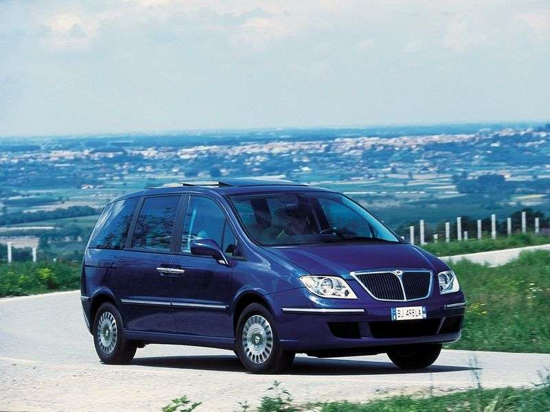 Lancia Phedra 2nd generation minivan 2.0 MT (2002 – n.)