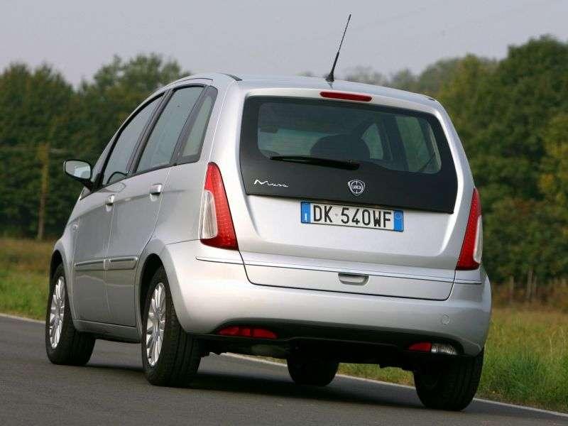 Lancia Musa 1st generation [restyled] minivan 1.3 Multijet MT Start & Stop (2010 – n.)
