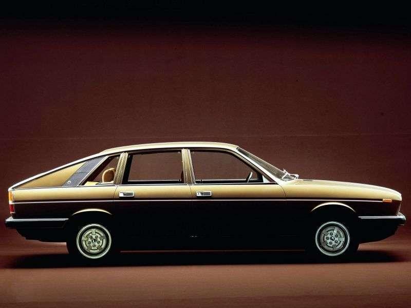 Lancia Gamma 1st generation Berlina fastback 2.5 MT (1976–1980)