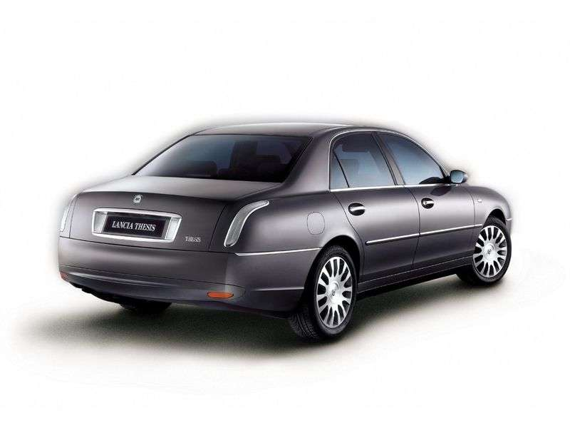 Lancia Thesis 1st generation 2.0 MT Turbo sedan (2001 – n.)