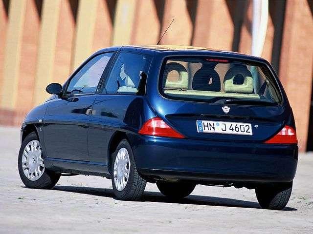 Lancia Y hatchback 1.generacji 1.2 MT (1997 2000)