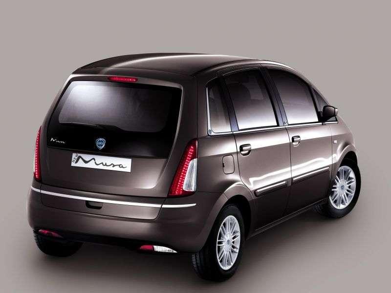 Lancia Musa 1st generation [restyled] minivan 1.3 Multijet AMT Start & Stop (2010 – n.)