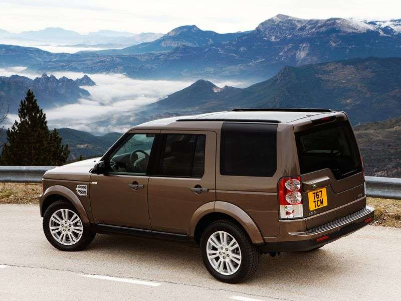 Land Rover Discovery 4th generation IV SUV 5.0 4WD AT HSE (2009 – n.)