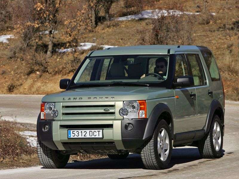 Land Rover Discovery 3rd generation III SUV 4.4 AT (2004–2009)