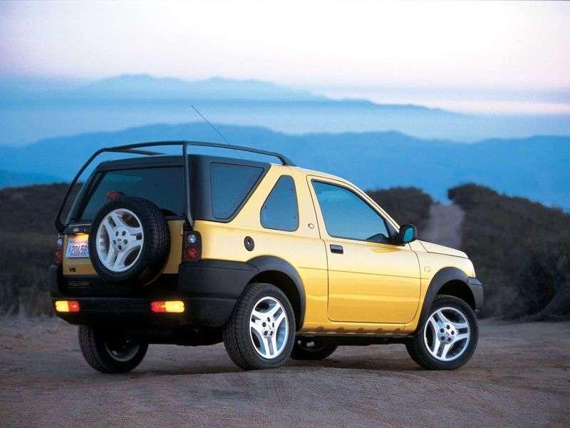 Land Rover Freelander 1st generation Hard Top 3 bit crossover. 1.8 MT (1998–2006)