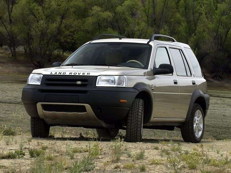 Land Rover Freelander 1st generation 5 bit crossover. 1.8 MT (1998–2006)