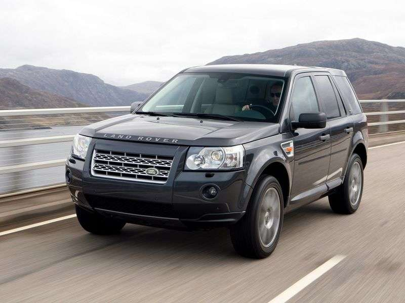 Land Rover Freelander 2nd generation II crossover 2.2 DTI AT (2006–2010)