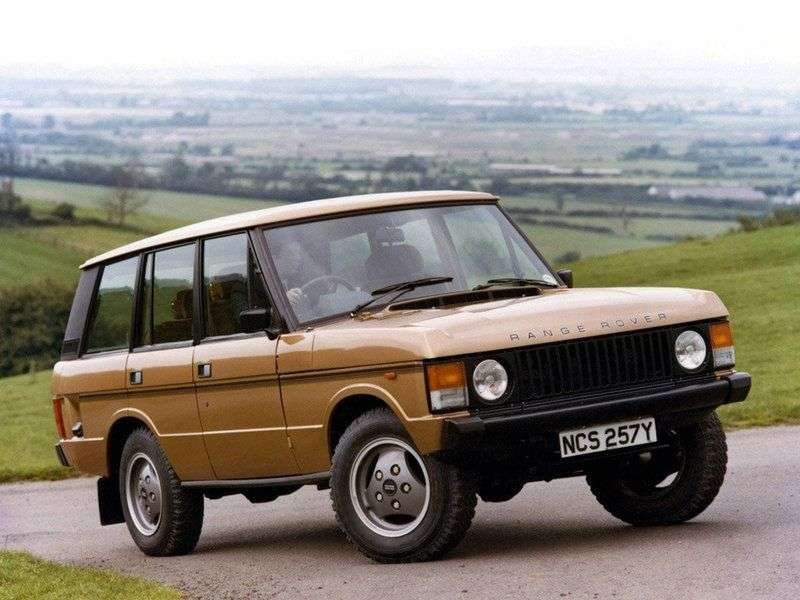 Land Rover Range Rover 1st generation SUV 3.5 MT (1988–1994)