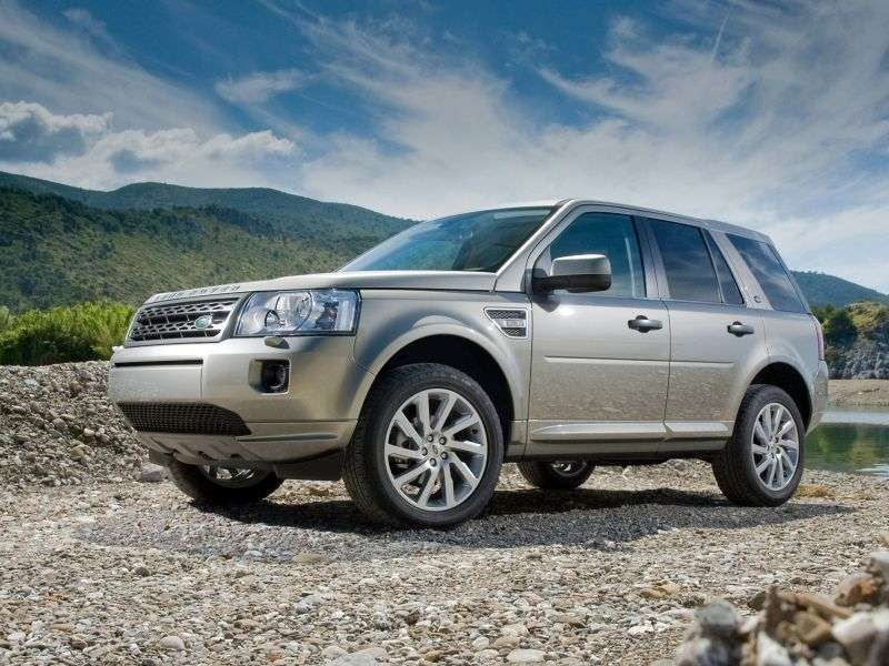 Land Rover Freelander 2nd generation [restyling] 2.2 SD4 crossover AT S (2010–2012)