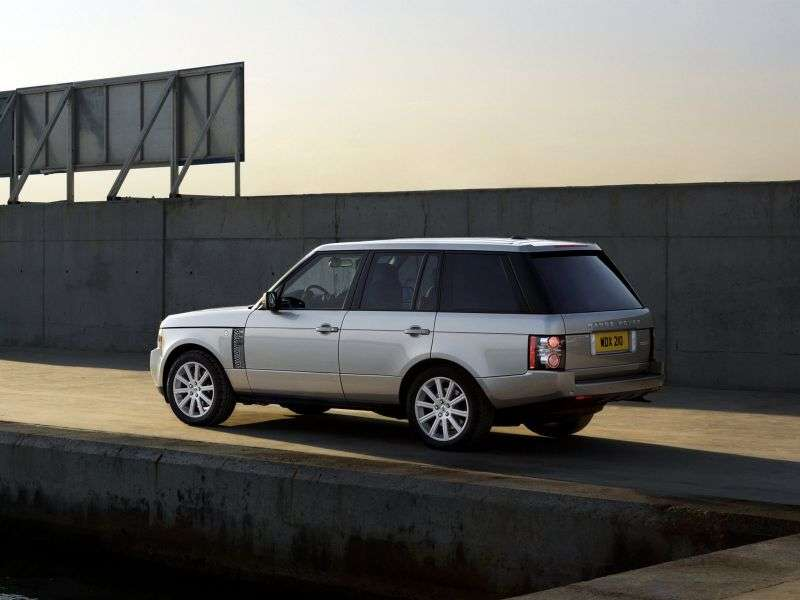 Land Rover Range Rover 3rd generation [2nd restyling] SUV 4.4 TDV8 AT AWD Vogue (2009–2012)