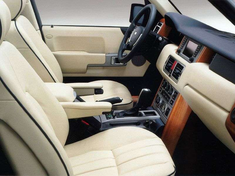Land Rover Range Rover 3rd generation [restyled] SUV 2.9 TD AT (2005–2009)