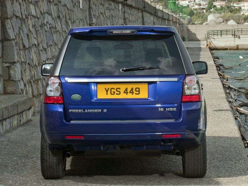 Land Rover Freelander 2nd generation [restyling] 2.2 TD4 AT HSE crossover (2010–2012)