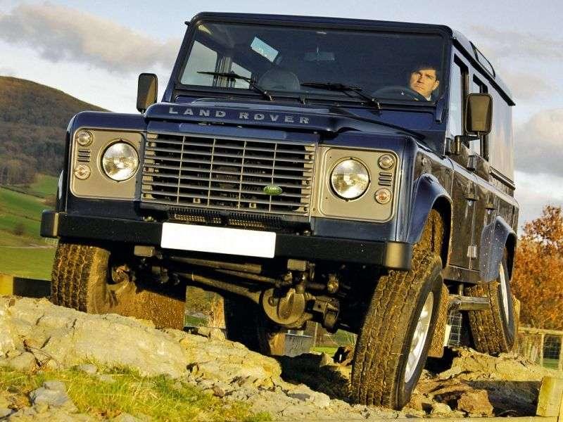 Land Rover Defender 1st generation [restyling] 110 Utility SUV 5 dv. 2.2 TD MT Base (2013) (2011 – present century.)