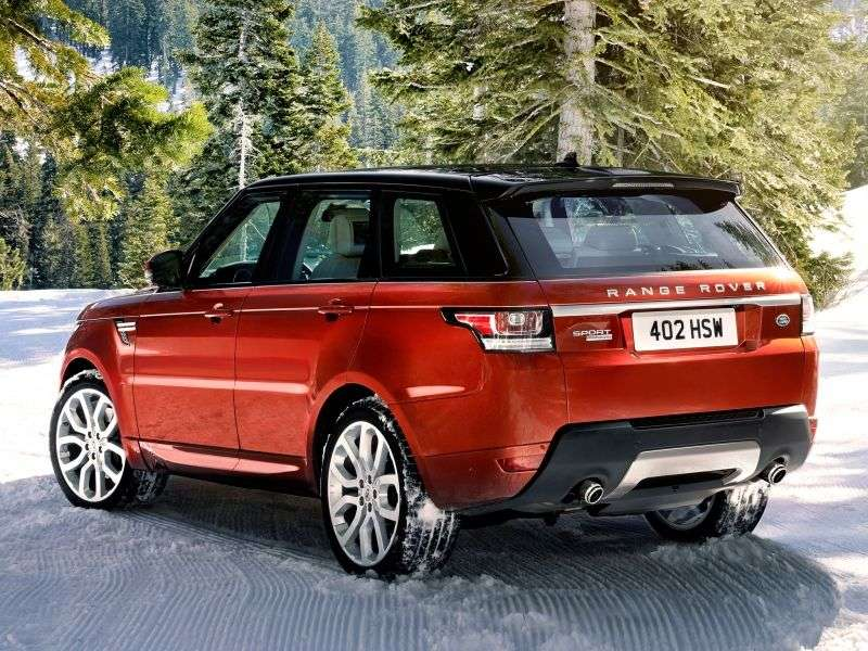 Land Rover Range Rover Sport 2nd generation SUV 3.0 SDV6 AT 4WD AB (2013 – v.)
