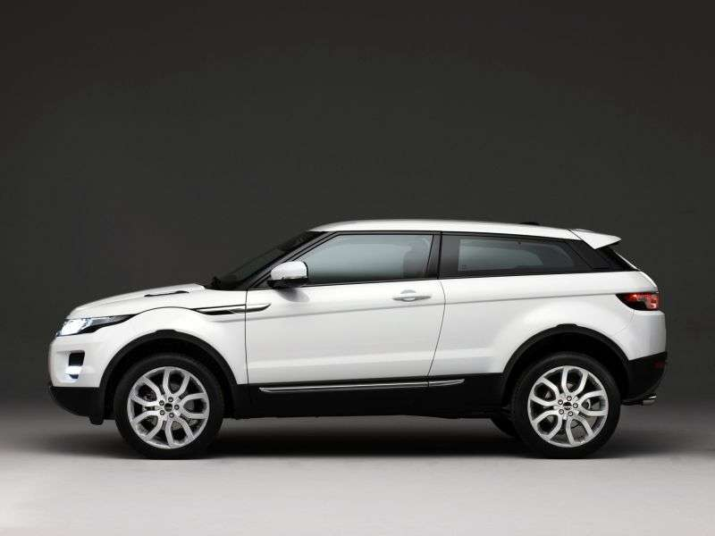 Land Rover Range Rover Evoque 1st generation SUV 3 dv. 2.2 SD4 AT Pure (2011 – current century.)