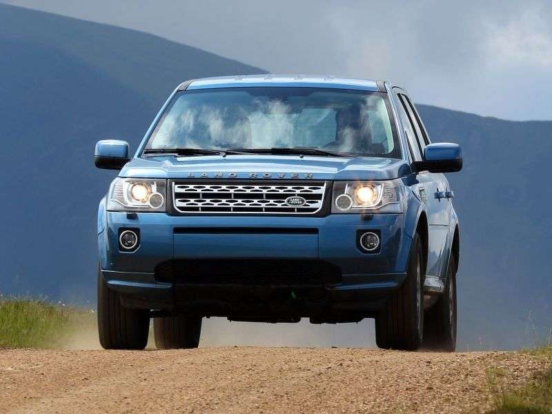 Land Rover Freelander 2nd generation [2nd restyling] 2.2 TD4 AT 4WD Dynamic crossover (2012 – n.)