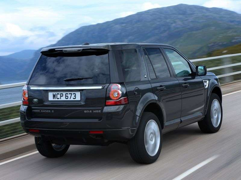 Land Rover Freelander 2nd generation [2nd restyling] 2.2 TD4 AT 4WD S crossover (2012 – n.)